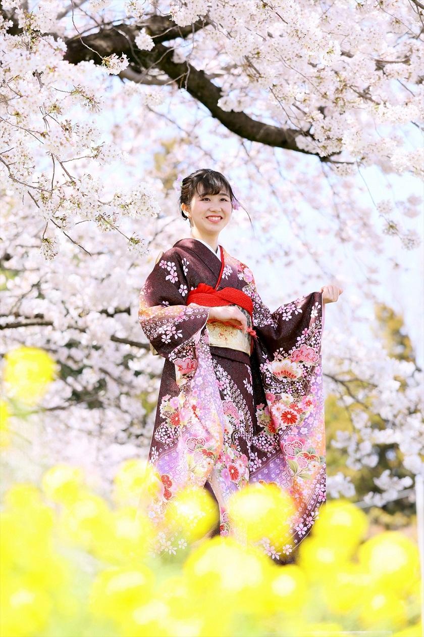 #桜 #ロケーション撮影 #春 #羽衣 #館林 #前撮り
